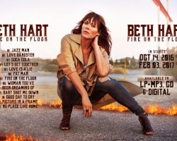 "Beth Hart turns the heat on with ""Fire On The Floor"""