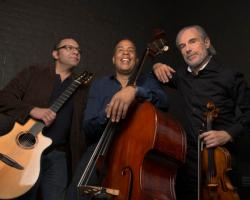 Stanley Clarke, Bireli Lagrene,Jean-Luc Ponty present  D-stringz