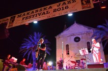 Igor Geržina brought a lot of fun at Makarska Jazz Festival