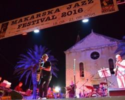 Igor Geržina brought a lot of fun at Makarska Jazz Festival