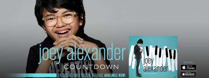"""Joey Alexander brings his second album """"Countdown"""""""