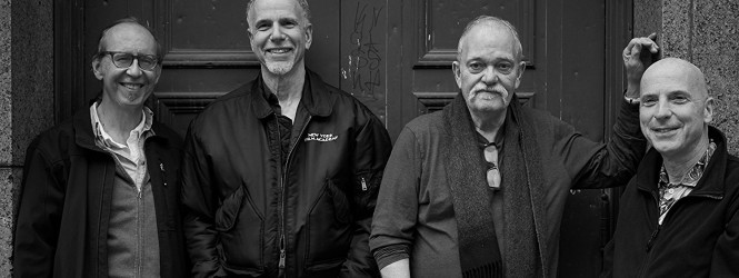 "John Abercrombie Quartet is in harmony with ""Up and Coming"""